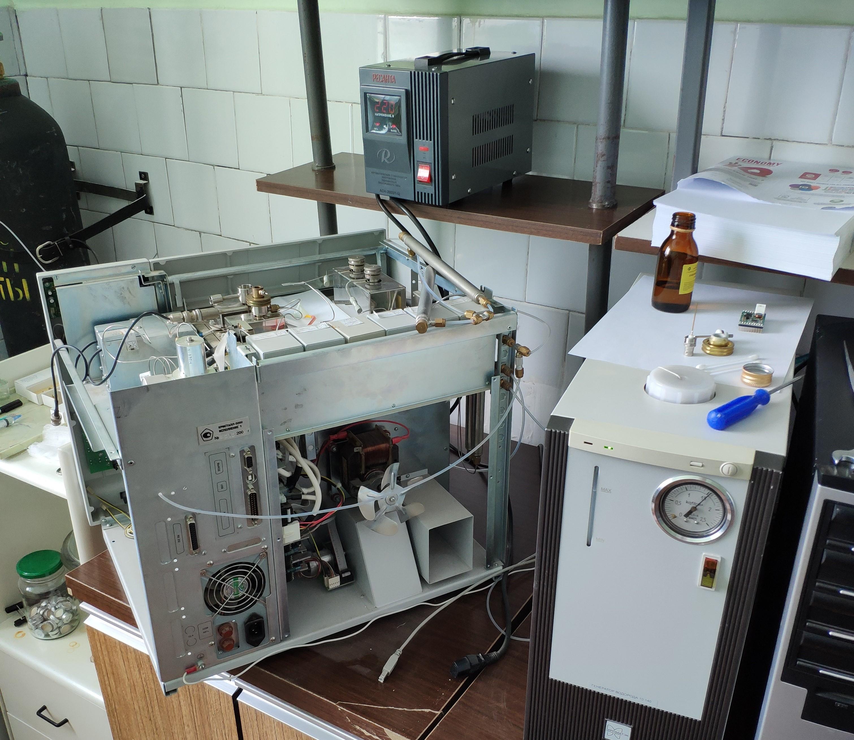 Ремонт газовых и жидкостных хроматографов