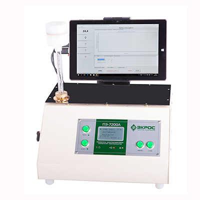 Анализатор температуры помутнения, застывания и кристаллизации ПЭ-7200 А