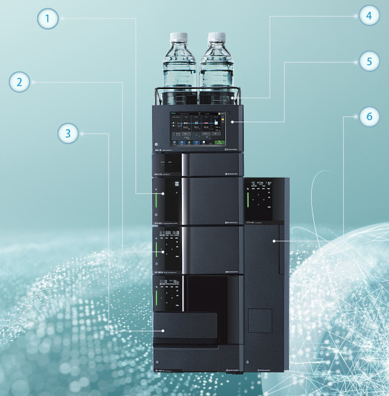 Сверхвысокоэффективный жидкостный хроматограф Shimadzu LC-40 Nexera